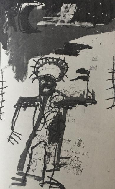Jean-Michel Basquiat, 'Basquiat at Annina Nosei Gallery 1986 (announcement) ', 1986, Lot 180
