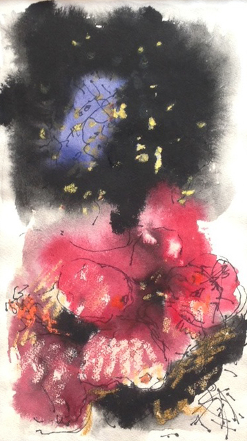Hans Burkhardt, 'Untitled', 1985, Drawing, Collage or other Work on Paper, Mixed media on paper, Caldwell Gallery Hudson