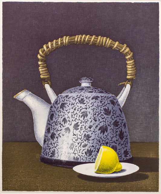 , 'Tea for Two,' 2016, Himmelblau Printmaking Finland
