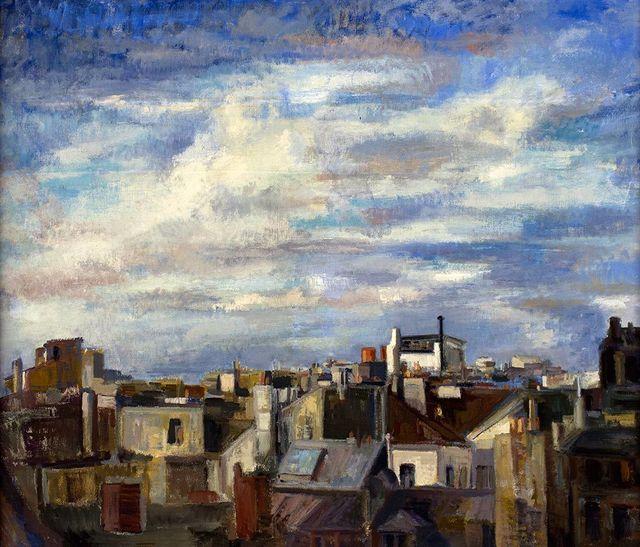 , 'Paris Cityscape I,' 1962-1965, CODA Gallery