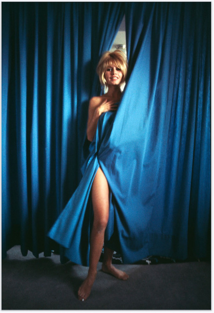 , 'Bridgette Bardot - Blue Curtains,' , Mouche Gallery
