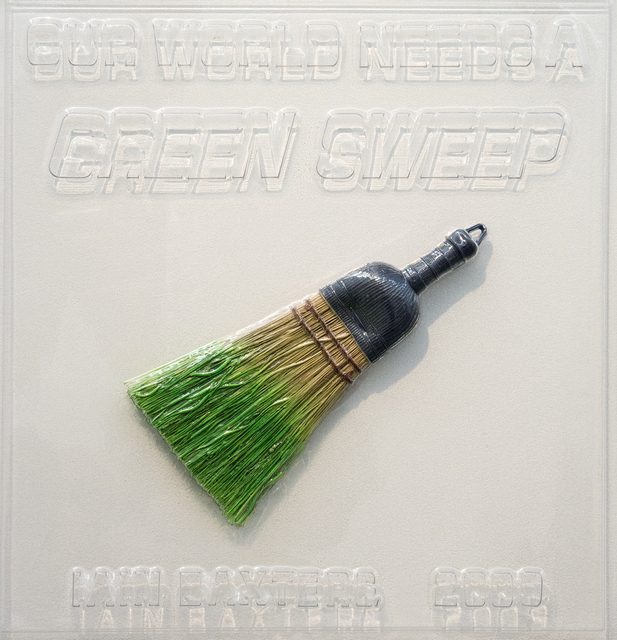 Iain Baxter&, 'Our World Needs a Green Sweep', 2009, Oeno Gallery