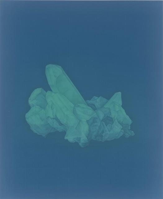 Xu Lei 徐累, 'A Rainbow Garden Stone Catalogue 3 霓園石譜 3', 2017, Painting, Ink on silk, Galerie Ora-Ora