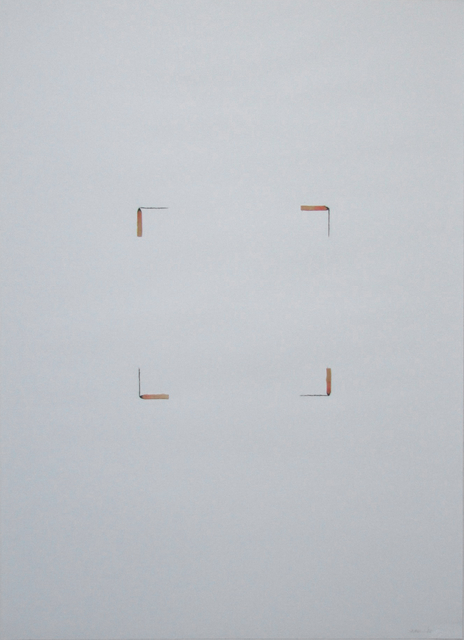, 'matches drawing,' 1986, Edition & Galerie Hoffmann