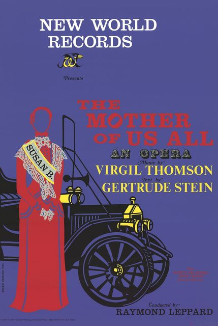 , 'The Mother of Us All Opera,' 1977, ArtWise