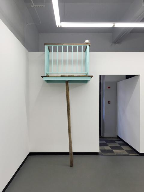 , 'Té sobre balcón en equilibrio,' 2016, Diablo Rosso