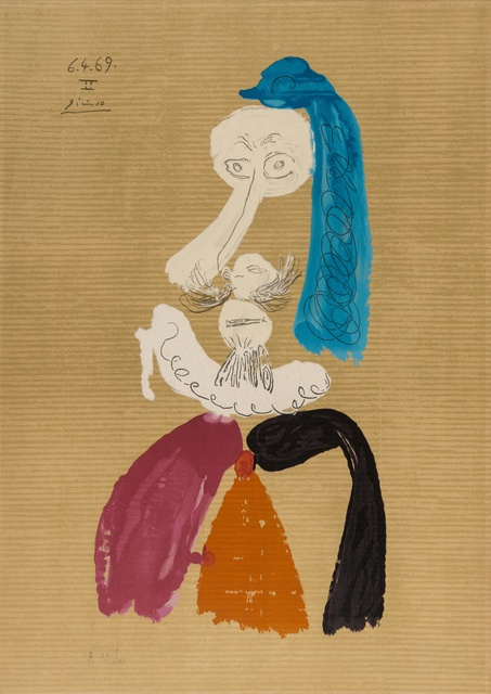Pablo Picasso, 'From Portraits Imaginaires', 1969, Forum Auctions