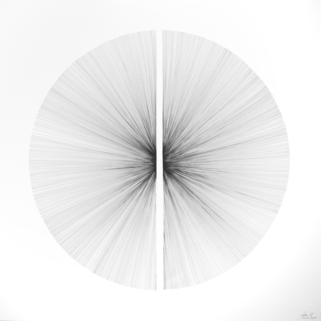 , 'Each Line One Breath - Hemisphere,' 2016, PARKVIEW ART Hong Kong