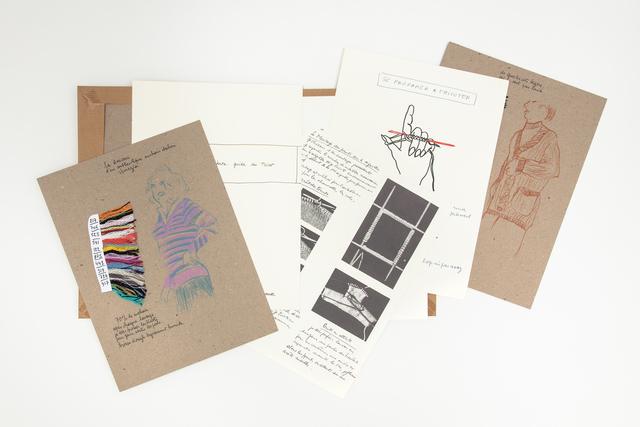 Annette Messager, 'Mon guide de tricot', 1973-2011, mfc - michèle didier