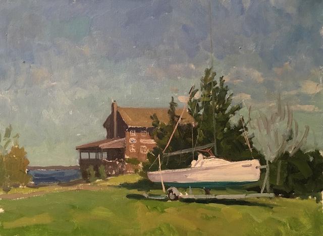, 'Breakwater Yacht Club,' 2016, Grenning Gallery