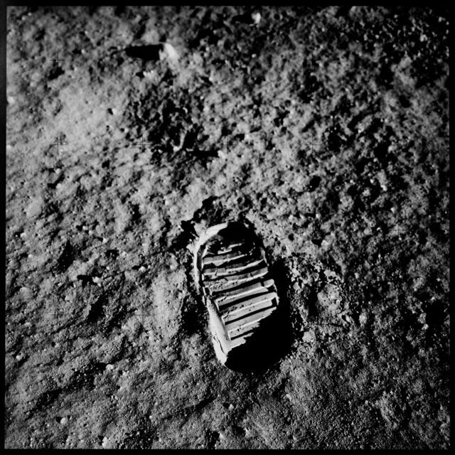 , 'Aldrin's boot print, Apollo 11,' 1969/1999, Vision Neil Folberg Gallery