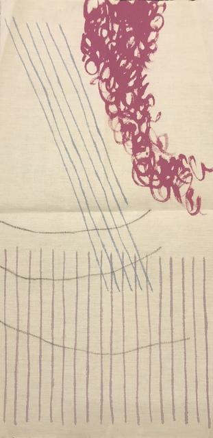 Giorgio Griffa, 'Mosso', 1998, Wallector