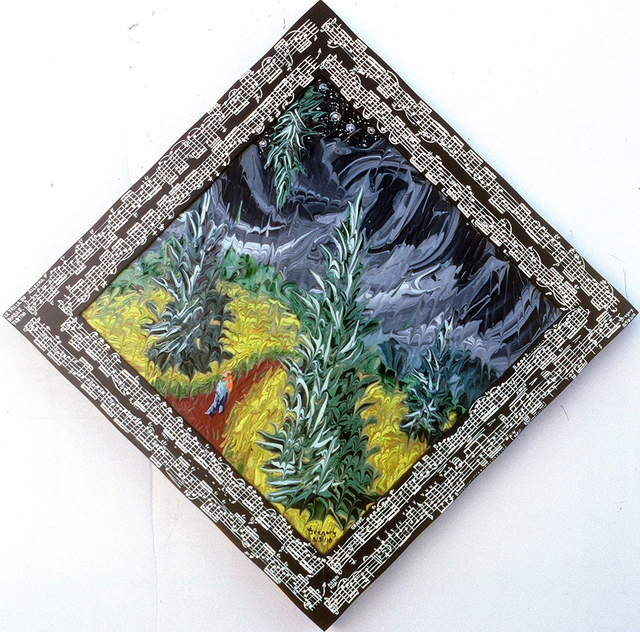 , 'Wheatfield with Rain Storm,' 2010, bG Gallery