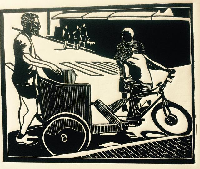 , 'Provincetown Pedicab,' 2017, Hutson Gallery
