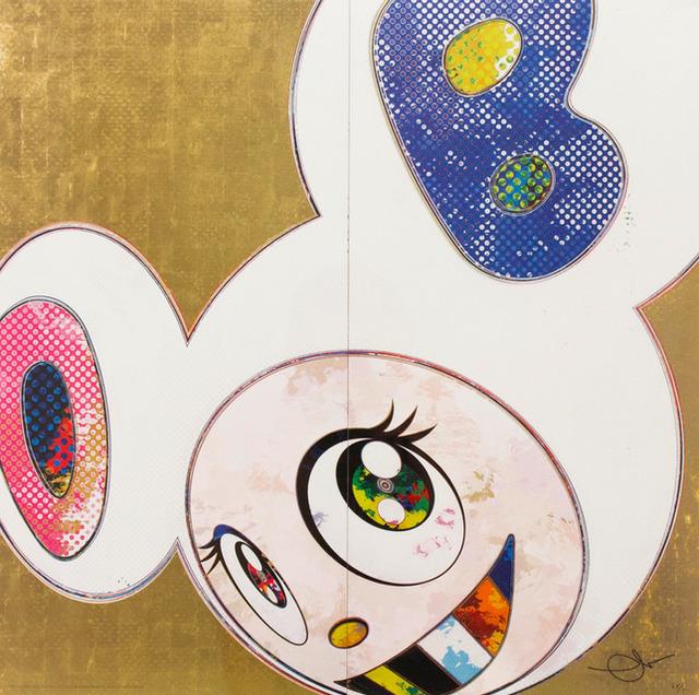 Takashi Murakami, 'DOB In Pure White Robe (Pink and Blue)', 2013, Dope! Gallery