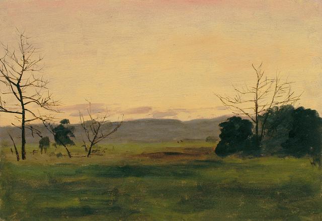 , 'Long Island Twilight,' ca. 1905, Sullivan Goss