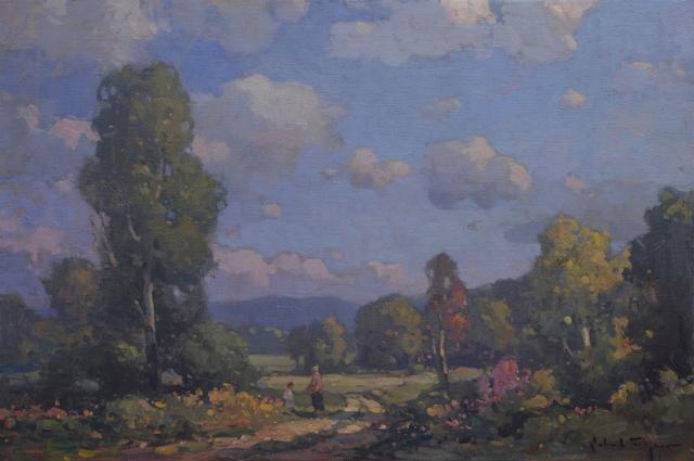 John C. Traynor, 'Field of Flowers', 2019, The Galleries at Salmagundi