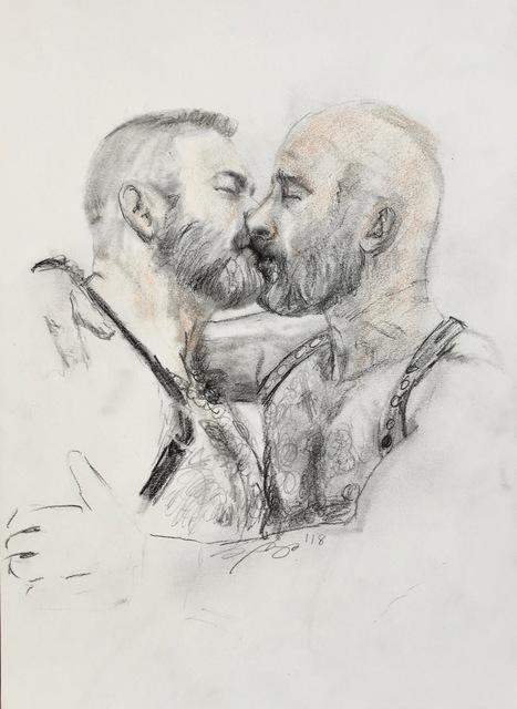 , 'Quick Study of a Kiss,' , Maison Depoivre