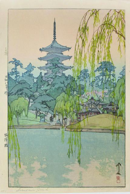 , 'Sarusawa Pond,' 1933, Ronin Gallery
