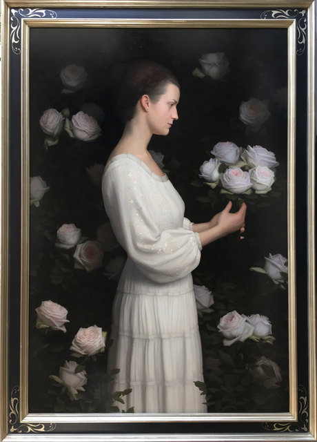 , 'The Flower Painter,' 2018, ARCADIA CONTEMPORARY