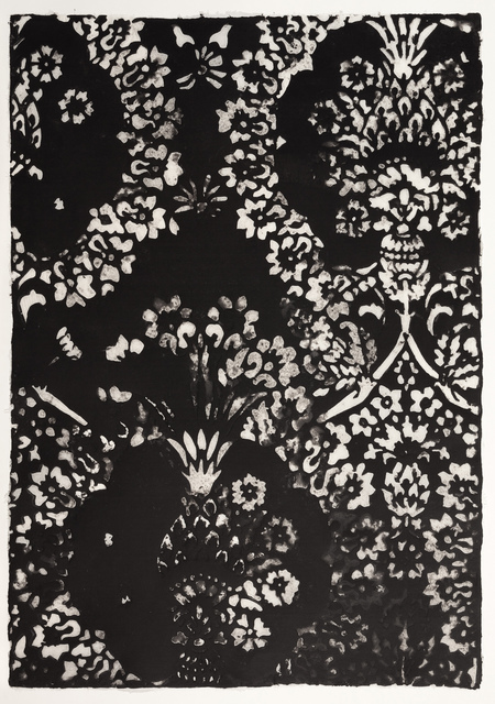 , 'Black Velvet Pattern,' 2015, Callan Contemporary