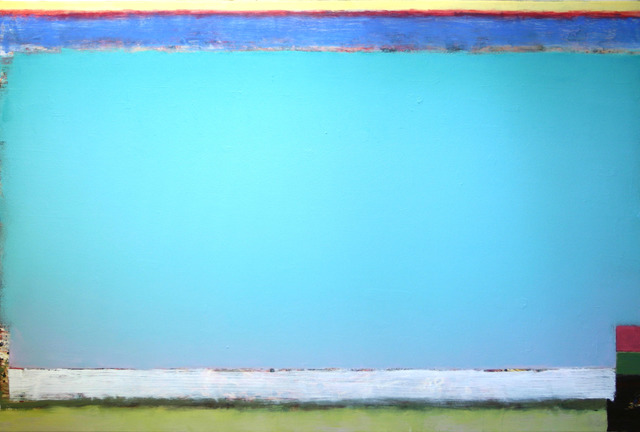 , 'FLC Stretch Blue Green Mist,' 2017, Conduit Gallery