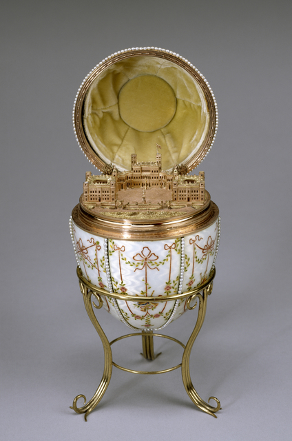 House of Fabergé, 'Gatchina Palace Egg', 1901, Walters Art Museum