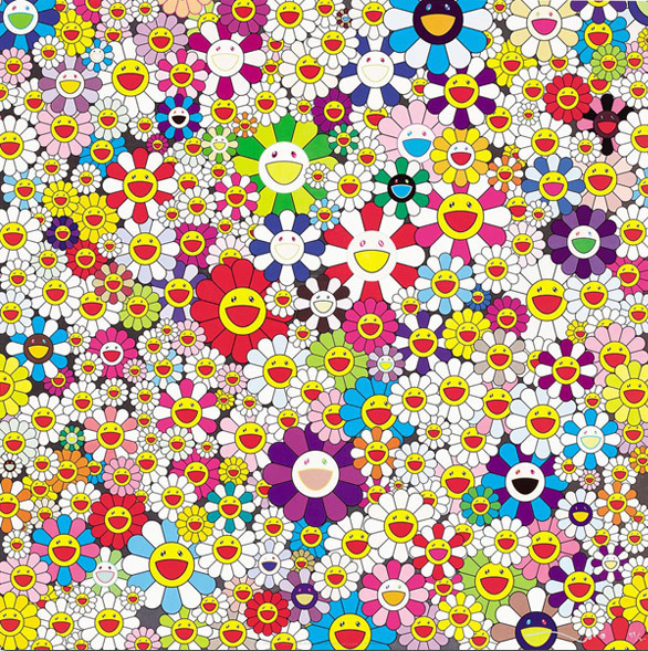 Takashi Murakami, 'If I Could Reach That Field of Flowers, I Would Die Happy', 2010, MSP Modern