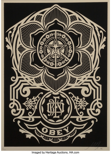Shepard Fairey (OBEY), 'Obey Flower', 2006, Heritage Auctions
