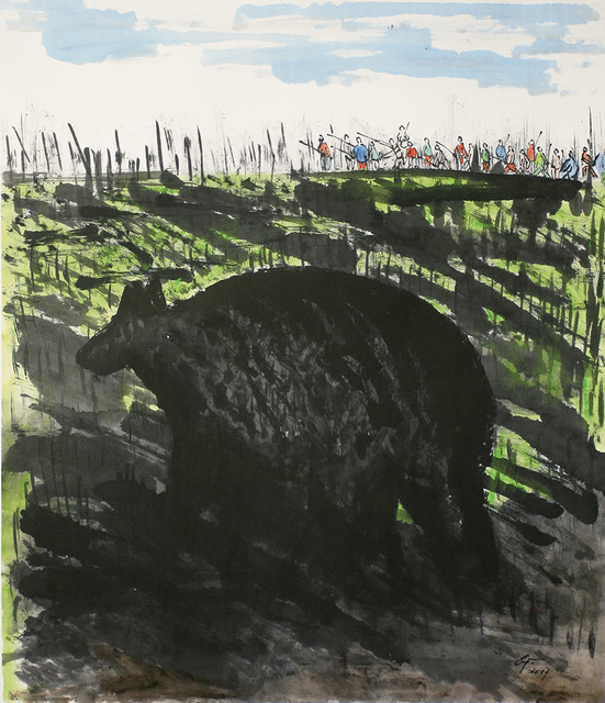 , 'What an Animal,' 2017, Alisan Fine Arts