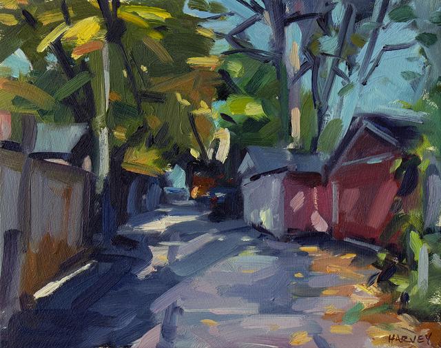 Brian Harvey, 'Red Garage', 2019, Abbozzo Gallery