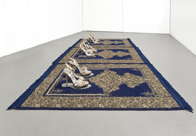 , 'Silence Bleu,' 2012, Sabrina Amrani