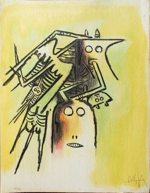 , 'Elle, casqué - from the suite Pleni Luna,' 1974, Wallector