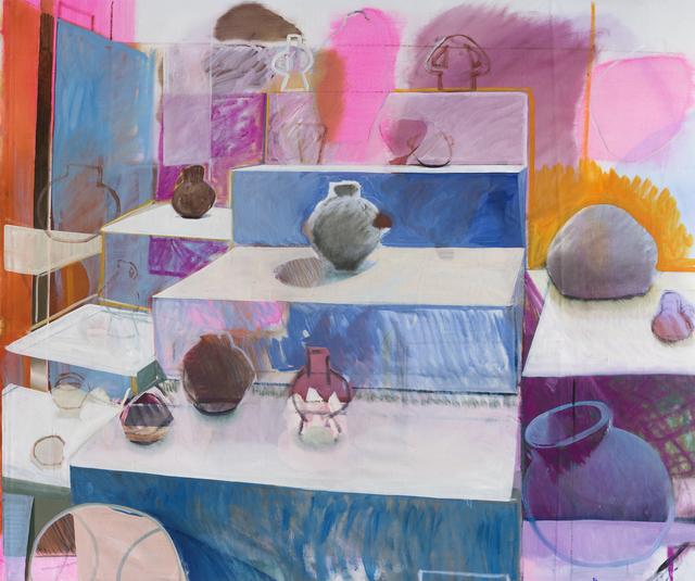 , 'The Audience,' 2015, Christine König Galerie