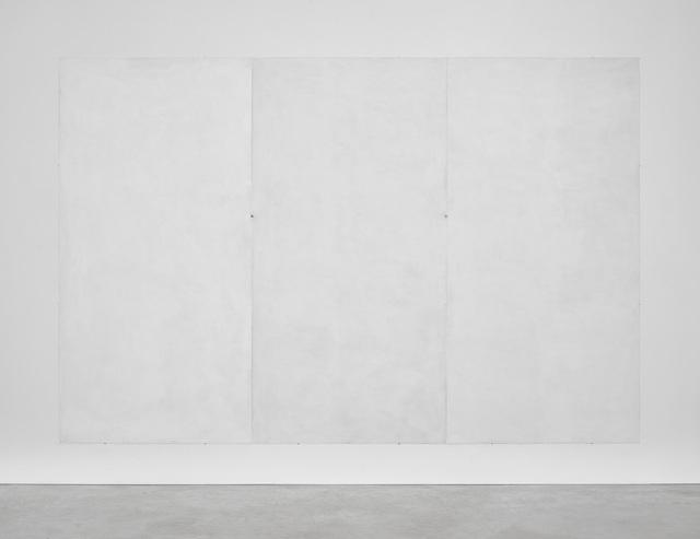 , 'Mur blanc RAL ( + ................ ) en trois volets,' 2018, Kristof De Clercq