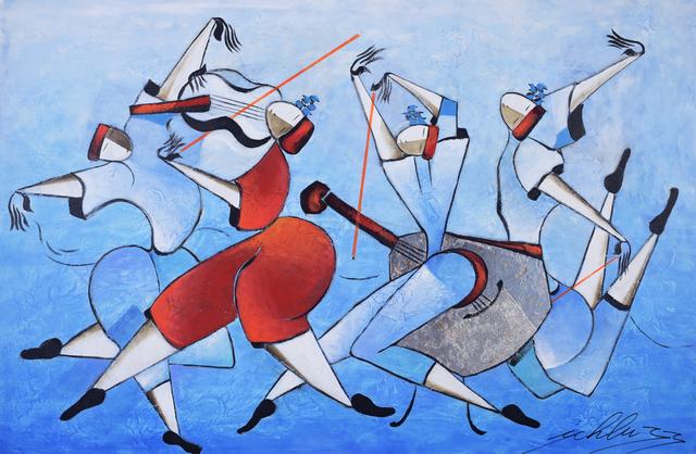 , 'Les Danseurs En Bleu,' 2017, Blue Gallery
