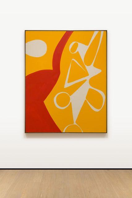 , 'Rot und Gelb,' 1968, Almine Rech