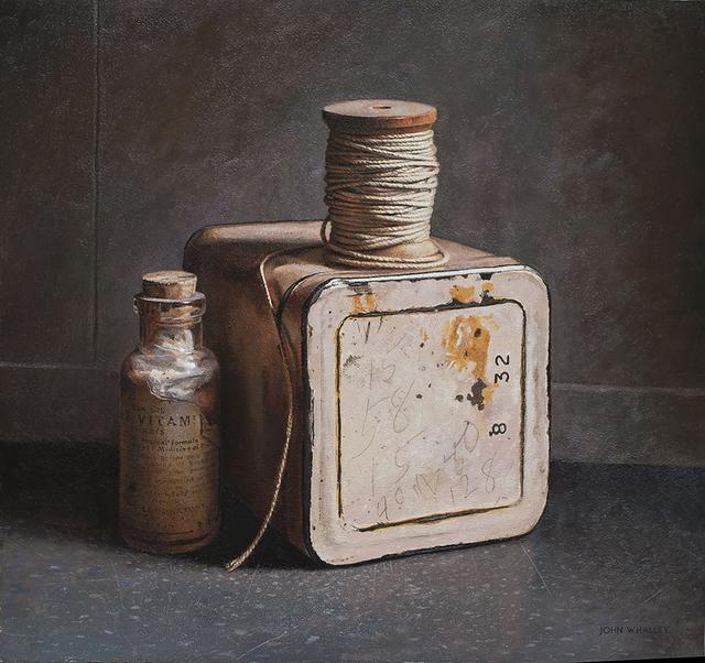 , 'Spool and Tin,' 2018, Greenhut Galleries