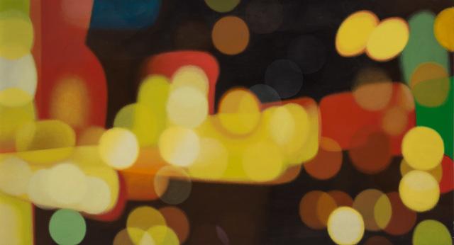 Bob Knox, 'E = MT2 (Energy Equals Manhattan Times Square', 2001, Painting, Acrylic on canvas, Doyle