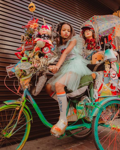 , 'Bicicleta,' 2018, 9 Strokes Gallery
