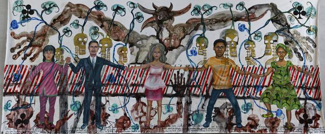 Barthélémy Toguo, 'Rwanda 1994', 2014, Galerie Lelong & Co.