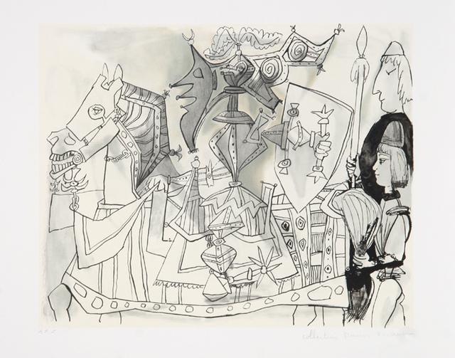 Pablo Picasso, 'Jeux de Pages, 1951', 1979-1982, Print, Lithograph on Arches paper, RoGallery