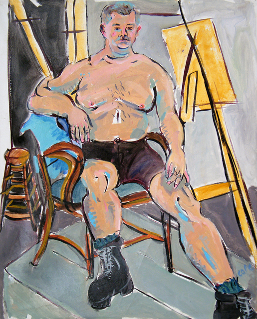 , 'Butch in Arts Institute League NY,' 2010, Maison Depoivre