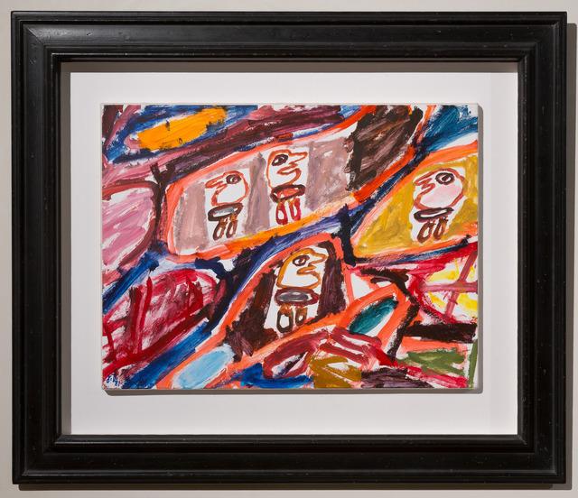 , 'Psycho-Site: Site avec quatre personnages,' 1981, Galerie Knoell, Basel