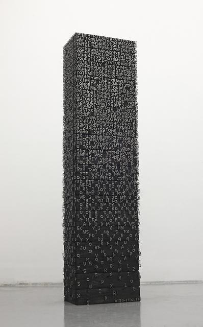 , '0121-1110=111093,' 2011, Madison Gallery