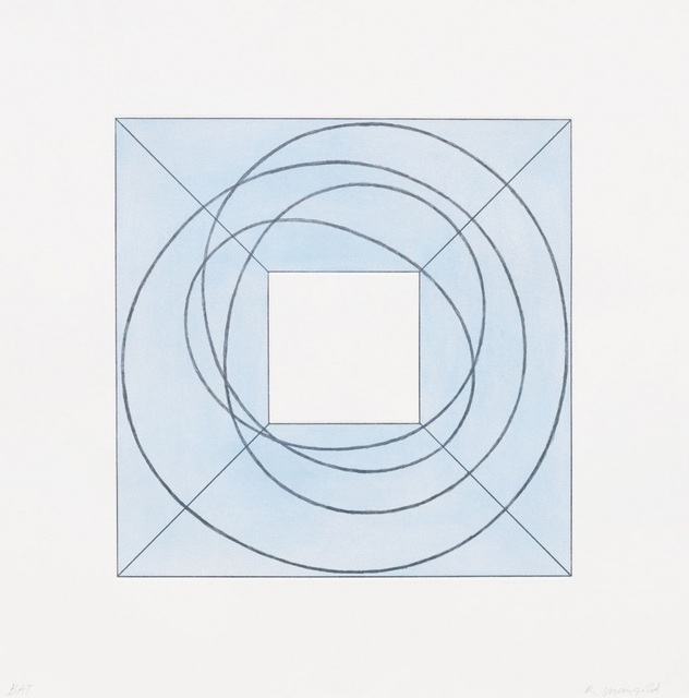 , 'Framed Square with Open Center B,' 2013, Talley Dunn Gallery