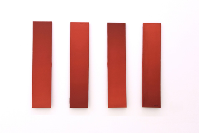, 'Four Parts Painting in Space,' 1986, Yavuz Gallery
