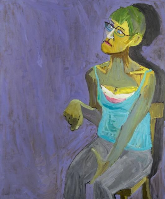 , 'Sitting,' 2015, Flowers