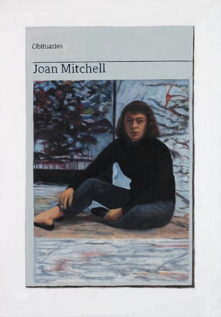 , 'Obituary: Joan Mitchell,' 2017, Charlie Smith London