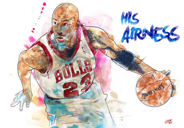 , 'HIS AIRNESS,' 2017, DATG Concept